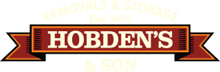 REMOVALS & STORAGE - Est. 1974 - HOBDEN'S & SON